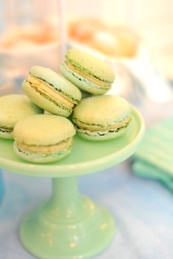 Pistachio macaroons from The Painted Cupcake in Nashville
