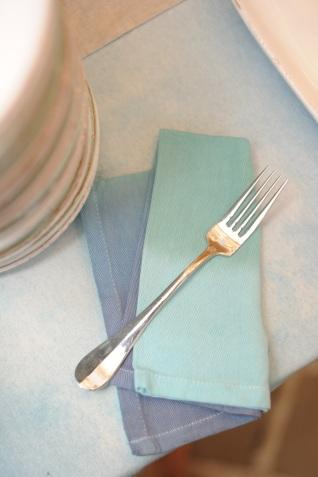 Tie-died napkins
