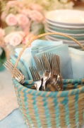 Ombre silverware caddy from Target
