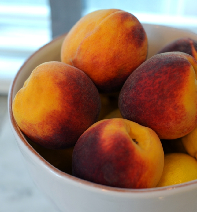Peachs from The Peach Truck