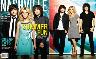 Nashville Lifestyles magazine features The Band Perry. Photos by Kristin Barlowe. Production, styling and design by Katie Jacobs.