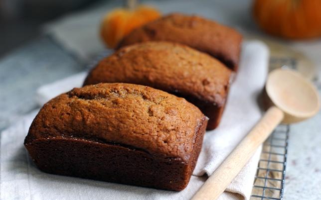 ... -Made Recipe for Williams-Sonoma's Spiced Pecan Pumpkin Quick Bread