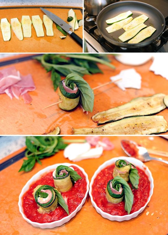 Zucchini Rollatini Prep