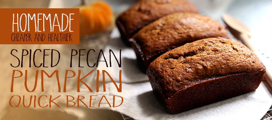 ... -Sonoma's Spiced Pecan Pumpkin Quick Bread | Styling My Everyday