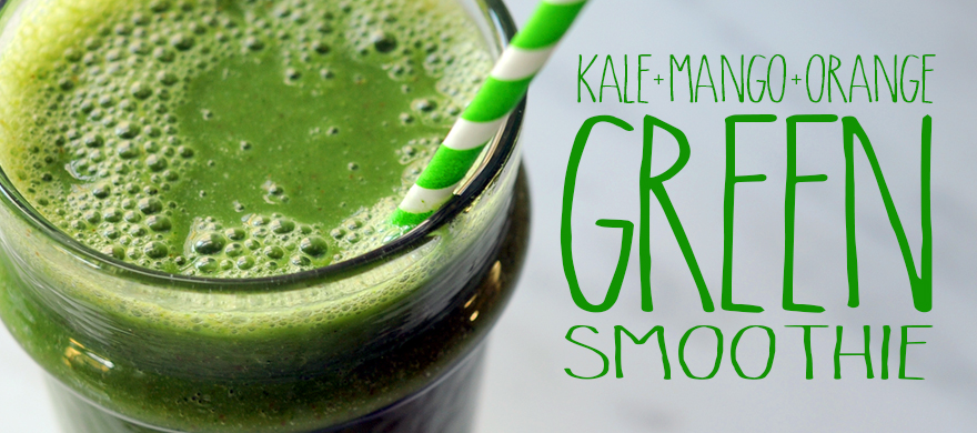 ... New Year Off Right: Super Healthy Green Smoothie | Styling My Everyday
