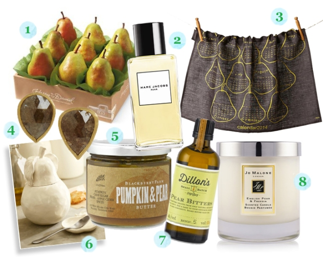 Pear Themed Gift Guide