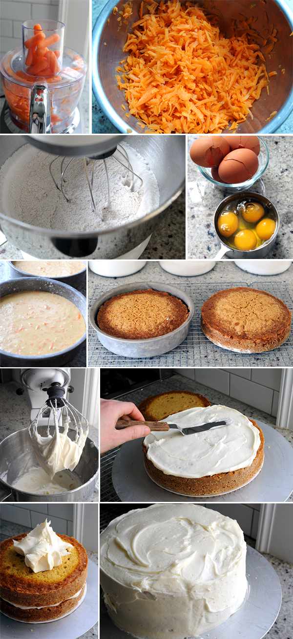 Carrot Cake How To