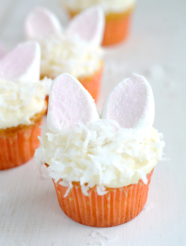 Bunny Coconut Cupcakes-5795