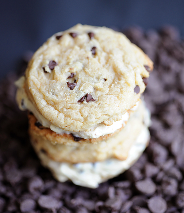 Chocolte Chip Sandwich Cookies-7056