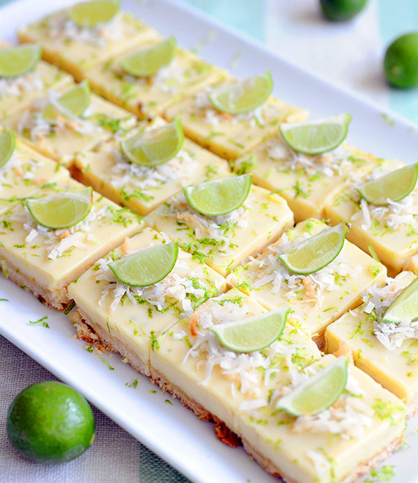 Key Lime Coconut Bars-7260