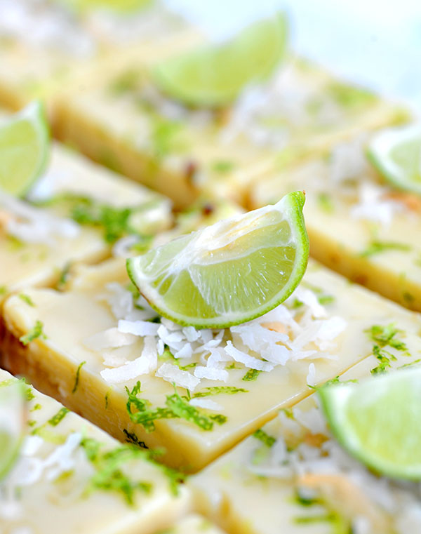 Key Lime Coconut Bars-7277