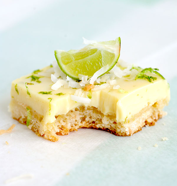 Key Lime Coconut Bars | Styling My Everyday