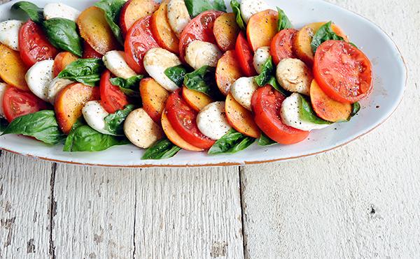 Peach Caprese Salad-7229