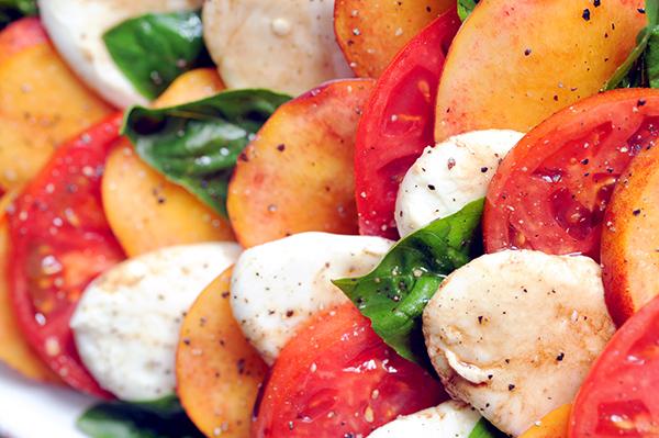 Peach Caprese Salad-7249