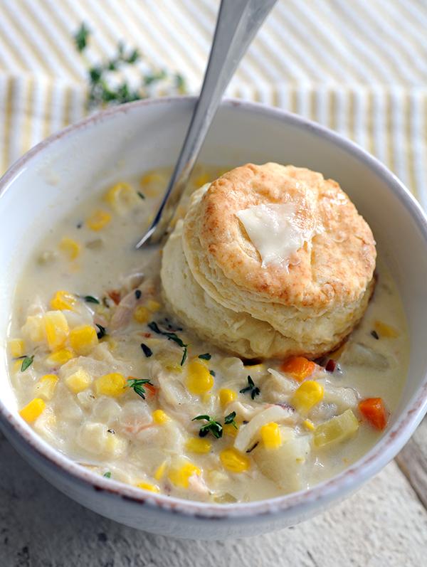 Chicken Chowder With Potato, Bacon, And Corn Recipes — Dishmaps