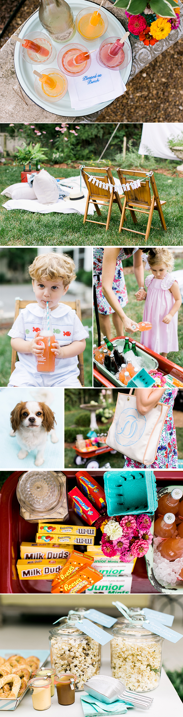 Backyard Movie Birthday Party Ideas